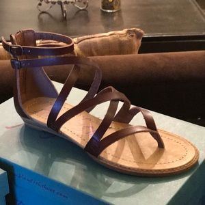 9b978939c Blowfish Shoes - BlowFish Bungalow Sandal Whiskey Brown
